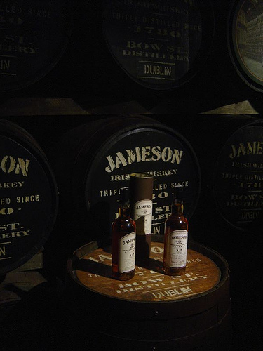 Jameson whiskey price can range from $20 to $270 for a bottle.